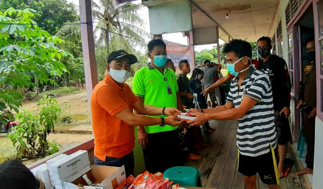 UPTD Puskesmas Tumbang Titi Laksanakan Gerakan Pengobatan Gratis Pasca Banjir