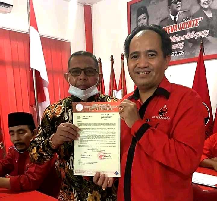 Terima Rekom dari DPP PDI Perjuangan,  Eryanto Harun-Mateus Yudi Siap Tempur di Pilkada Ketapang