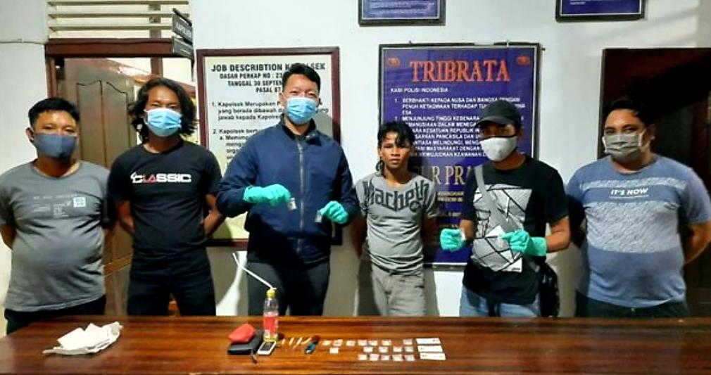 Kembali Satresnarkoba Polres Ketapang Ringkus Budak Narkoba di Marau