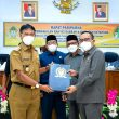 Wabup Farhan Hadiri Rapat Paripurna DPRD Terkait Penyampaian Fraksi DPRD terhadap Raperda Perubahan APBD Ketapang 2021